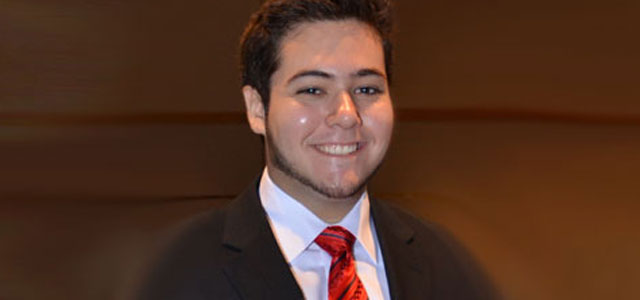 "Victor Alvarez: ""Outstanding BME Undergraduate"""