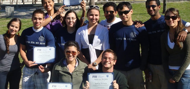 AEMB chapter receives award for Outstanding Honor Society Organization.