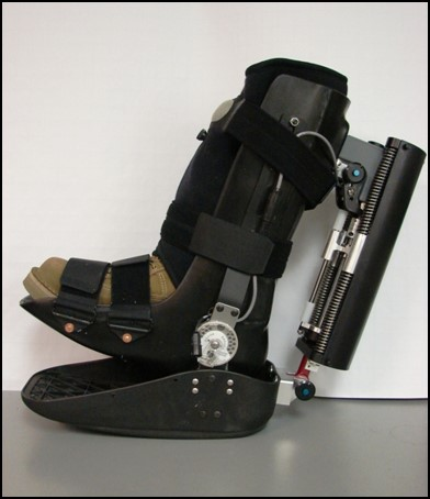 Chair of Biomedical Engineering receives patent for crutch-free walking device