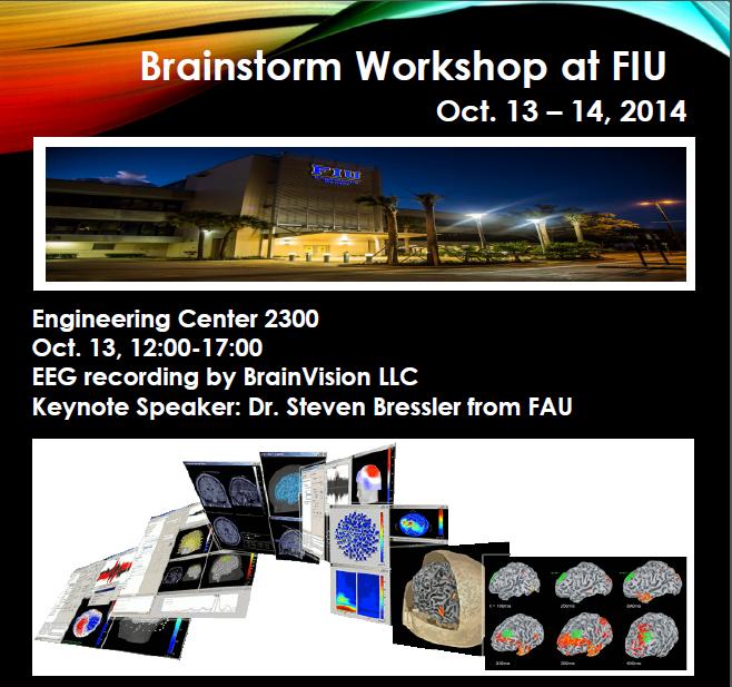 Brainstorm Workshop October 13-14, 2014