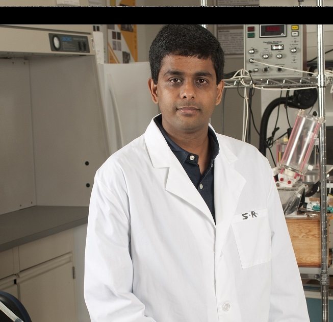 Sharan Ramaswamy receives U.S. Patent for Flow-Stretch-Flexure Bioreactor