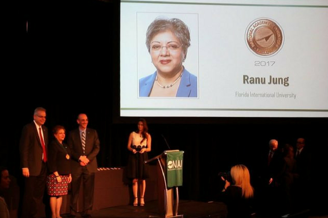Dr. Ranu Jung Inducted as NAI Fellow