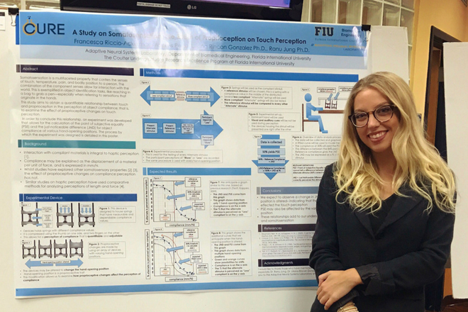 From a local operating room to Milan, biomedical engineering alumna excels