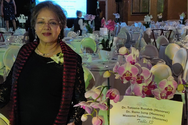 In the Company of Women Awards announces Science & Technology honoree Ranu Jung