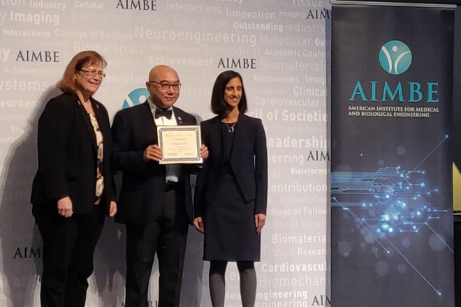 Chenzhong Li Inducted as AIMBE Fellow