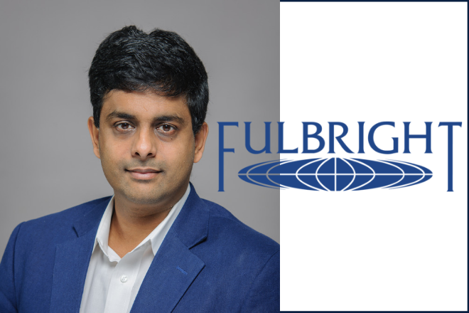 Sharan Ramaswamy selected for Fullbright award to Sweden