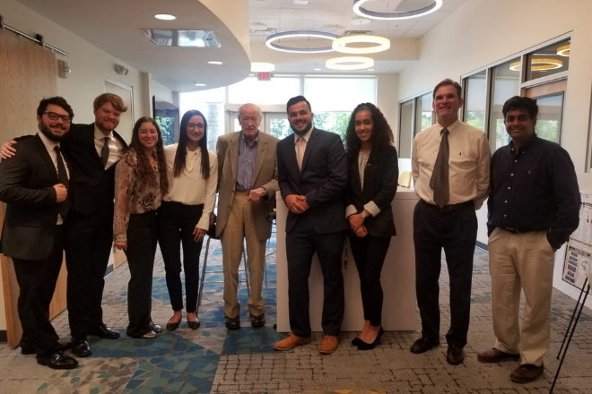 BME students present research to industry professionals
