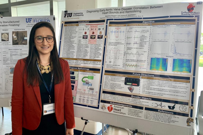 Valentina Dargam wins first place at Conference of Florida Graduate Students