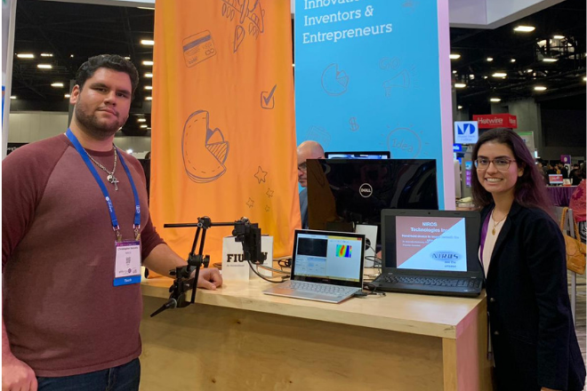 BME alumni present NIROS Technology at eMerge Americas