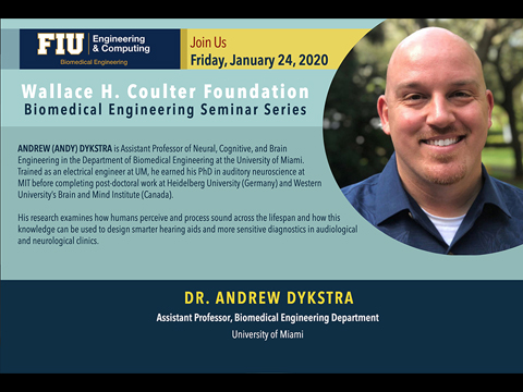 Dr. Andrew Dykstra | Identifying Physiological Markers Of Conscious Audition