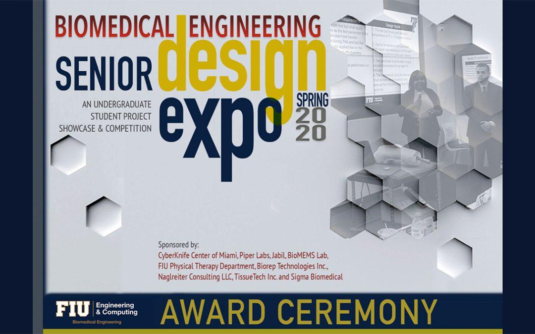 Senior Design Award Ceremony – Spring 2020 at FIU