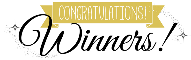 Congratulations to all the winners!