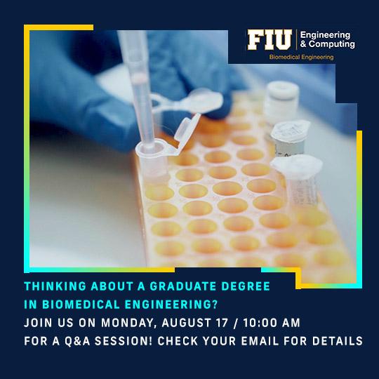 Biomedical Engineering Graduate Degree Q&A