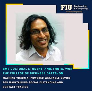Doctoral Student Anil Thota