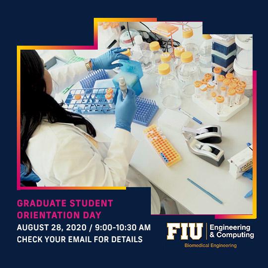 Graduate Student Orientation Day