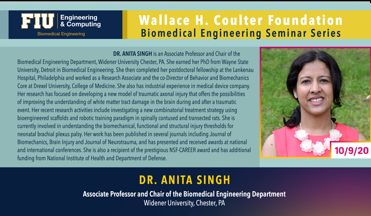 Dr. Anita Singh | Understanding the Mechanism, Treatment & Prevention of Nervous System Injuries