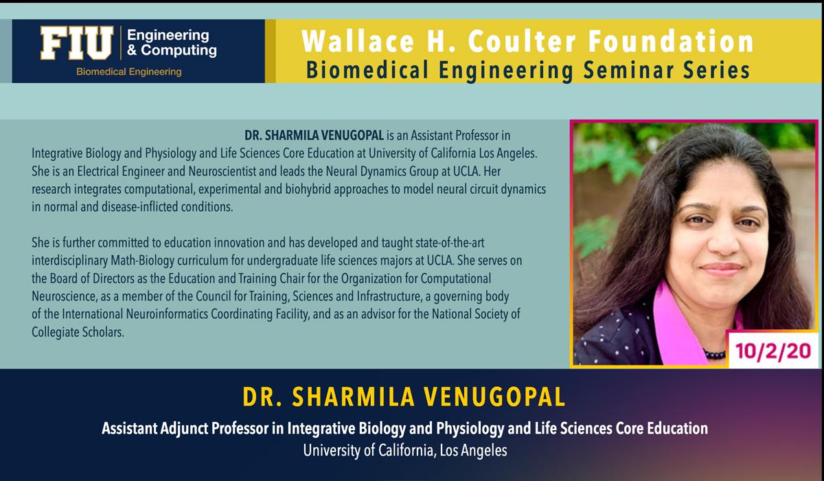 Dr. Sharmila Venugopal | Modeling Neurodegenerative Disease Dynamics