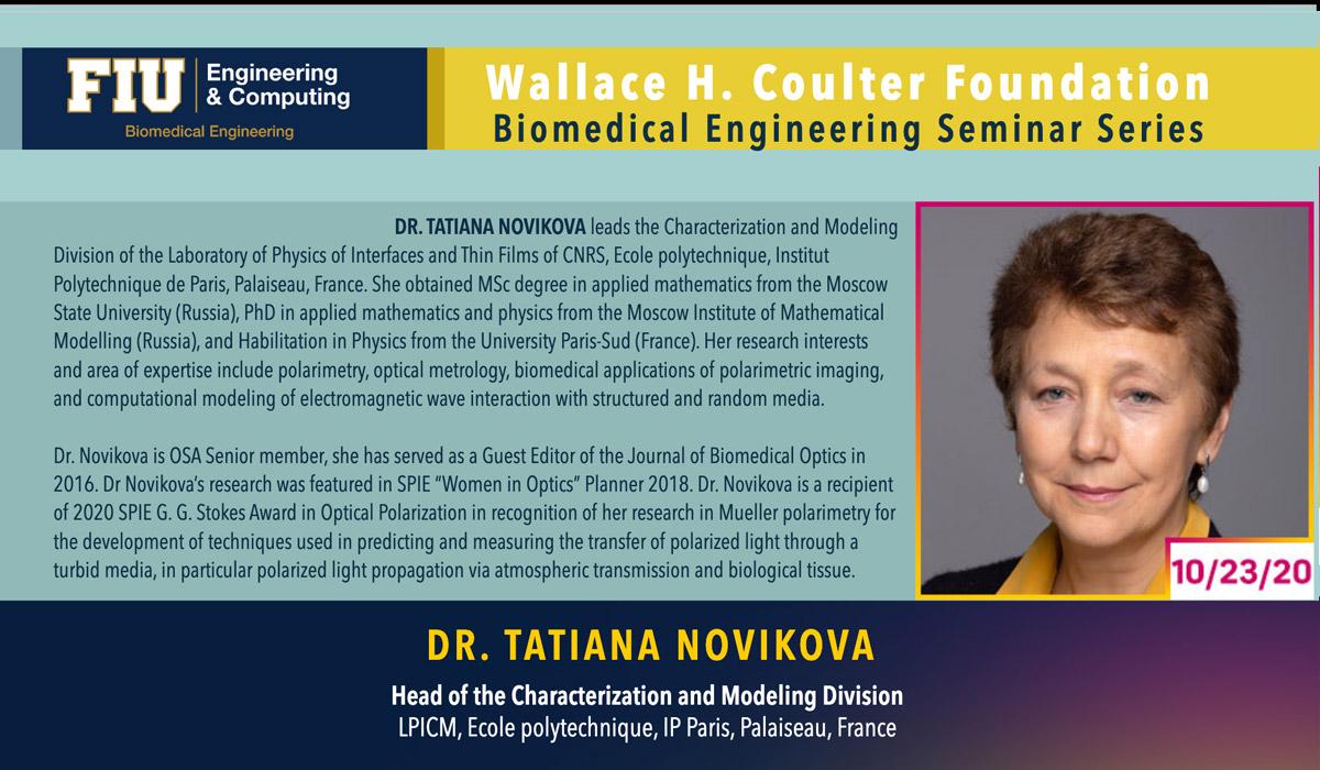 Dr. Tatiana Novikova | Polarization of Light As Ariadne's Thread Within The Labyrinth Of Medical Diagnostics