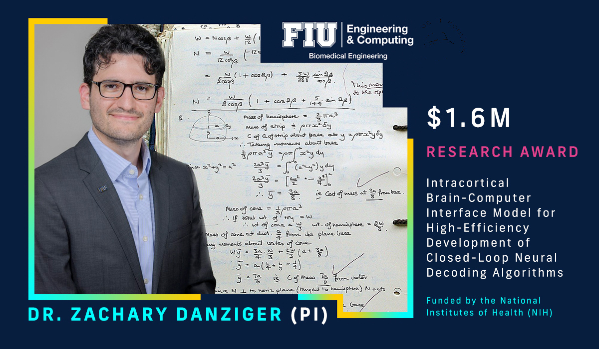 Zachary Danziger (PI) Research Award