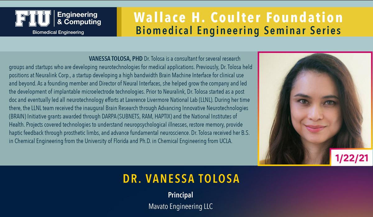 Dr. Vanessa Tolosa | Miniaturizing Neural Implants