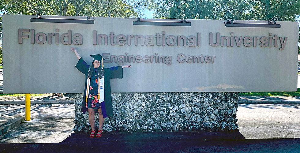 Ph.D. Graduate Brittany Gonzalez Appointed as a Postdoctoral Associate at FIU