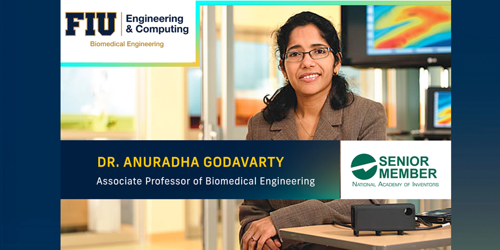 National Academy of Inventors Senior Member Dr. Anuradha Godavarty