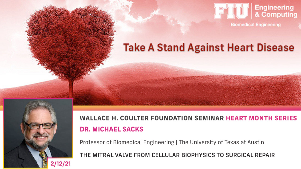 Dr. Michael Sacks | The Mitral Valve from Cellular Biophysics To Surgical Repair