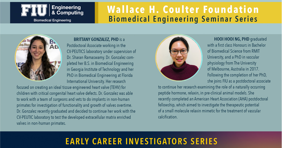 Dr. Brittany Gonzalez & Dr. Hooi Hooi Ng | Early Career Investigators Series
