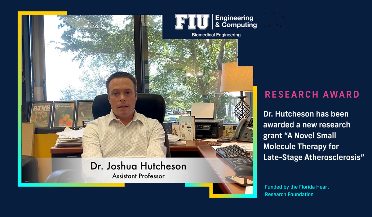 """New research grant """"A Novel Small Molecule Therapy for Late-Stage Atherosclerosis"""""""