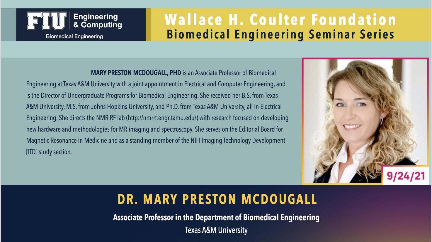 Dr. Mary Preston McDougall