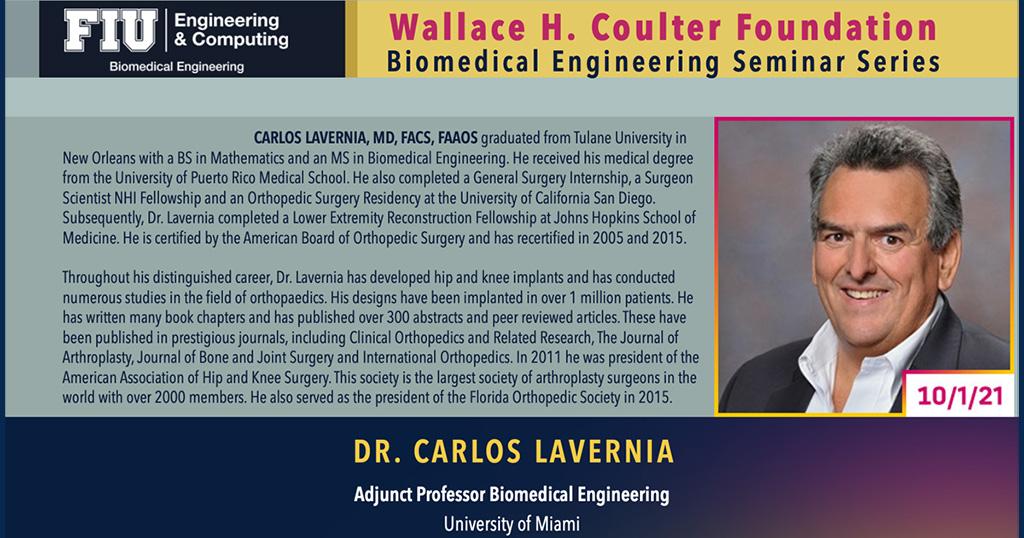 Dr. Carlos Lavernia